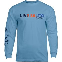 Salt Life Mens Live Salty Long Sleeve T-Shirt