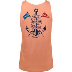 Salt Life Mens Salt Water Wind Tank Top