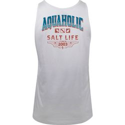 Salt Life Mens Aquaholic 2003 Tank Top