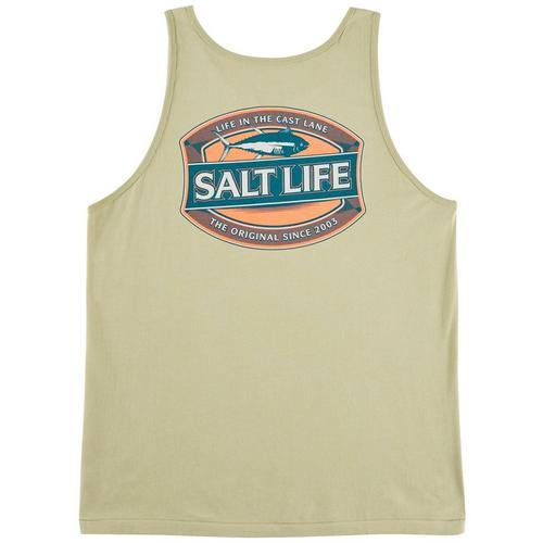 f28fe358a25b5 Salt Life Mens Life In Cast Tank Top