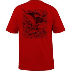 Salt Life Mens Deep Sea Fade Short Sleeve