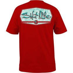Salt Life Mens Water Fix Short Sleeve T-Shirt