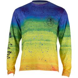 Salt Life Mens Electric Skinz UVapor Long Sleeve T-Shirt