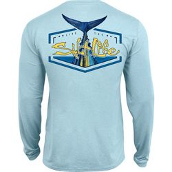 Salt Life Mens Saltwater Tuna Tail Long Sleeve T-Shirt