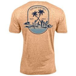 Salt Life Mens Paradise Found Heather T-Shirt