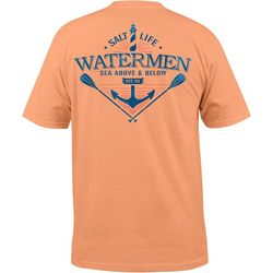 Salt Life Mens Sea Above Pocket T-Shirt