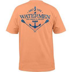 Salt Life Mens Sea Above Pocket T-Shirt 7641e7e02d23
