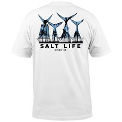 Salt Life Mens Fish Tail Pocket T-Shirt