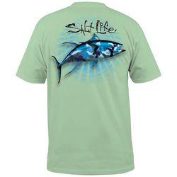 Salt Life Mens Bullseye Pocket T-Shirt