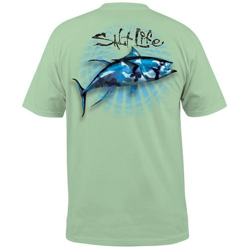 34d6ba59 Salt Life Mens Bullseye Pocket T-Shirt | Bealls Florida