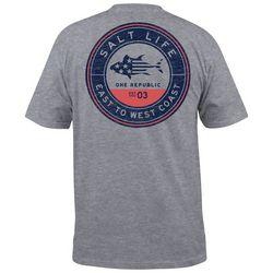 Salt Life Mens One Republic Pocket T-Shirt