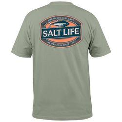 Salt Life Mens Life In The Cast Lane Pocket T-Shirt