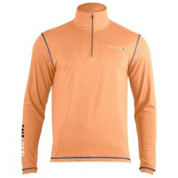 Salt Life Mens Zipper Placket SLX Performance Pullover