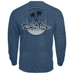 Salt Life Mens Saltwater Paradise Found Long Sleeve T-Shirt