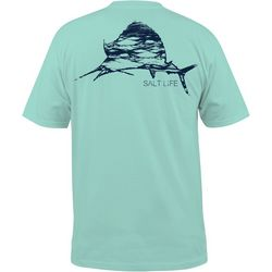 Salt Life Mens Ocean Sailfish T-Shirt