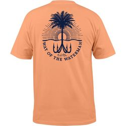 Salt Life Mens Hooked Palm Short Sleeve T-Shirt