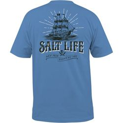 Salt Life Mens Back From Whence We Came T-Shirt