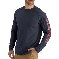 Carhartt Mens Logo Long Sleeve T-Shirt