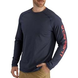 Carhartt Mens Logo Long Sleeve T-Shirt