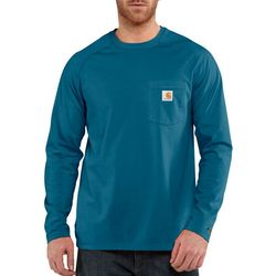 Carhartt Mens Big & Tall Force Cotton Delmont T-Shirt