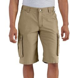 Carhartt Mens Force Tappen Solid Cargo Shorts