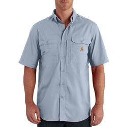 Carhartt Mens Force Ridgefield Solid Short Sleeve