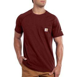 Carhartt Mens Force Cotton Delmont T-Shirt