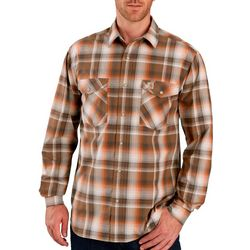 Carhartt Mens Rugged Flex Bozeman Plaid Long Sleeve Shirt