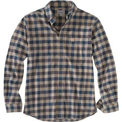 Carhartt Mens Rugged Flex Hamilton Flannel Long Sleeve Shirt