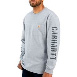 Carhartt Mens Workwear Double Graphic Long Sleeve T-Shirt