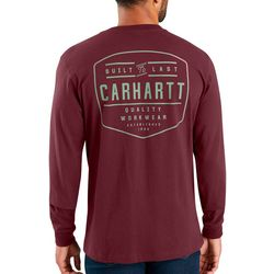 Carhartt Mens Workwear Built by Hand Long Sleeve T-Shirt
