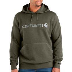Carhartt Mens Force Delmont Hooded Sweatshirt