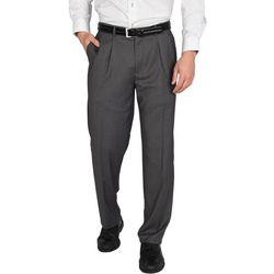 Dockers Mens Signature Straight-Fit Pleated Dress Pants