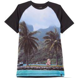Maori Hook Mens Mahalo Performance Raglan T-Shirt