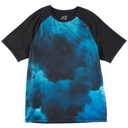 Maori Hook Mens Performance Colorblock Raglan T-Shirt