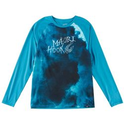 Maori Hook Mens Performance Crew Raglan T-Shirt
