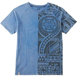 Maori Hook Mens Raglan Graphic T-Shirt
