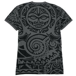 Maori Hook Mens Earth 3 Graphic T-Shirt