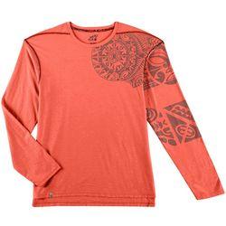 Maori Hook Mens Stoner Graphic Long Sleeve T-Shirt