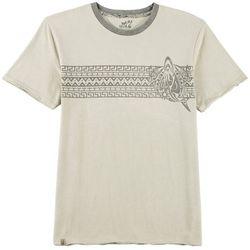 Maori Hook Mens Regal Contrast Trim T-Shirt
