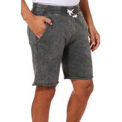 Maori Hook Mens Acid Washed Shorts