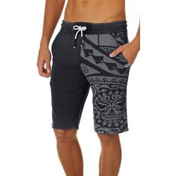 Maori Hook Mens Fade Graphic Shorts