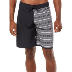 Maori Hook Mens Polynesian Stripe Boardshorts