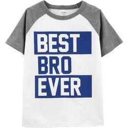Carters Little Boys Best Bro Ever T-Shirt