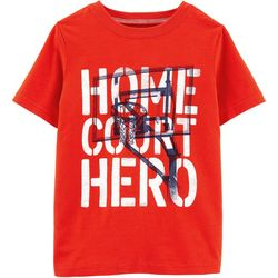 Carters Little Boys Home Court Hero T-Shirt