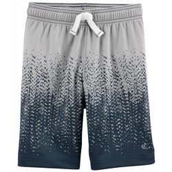 Carters Little Boys Tire Tread Mesh Shorts