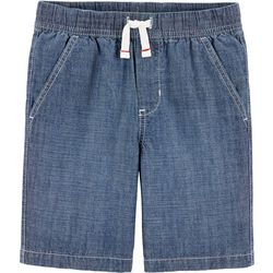 Carters Little Boys Chambray Shorts