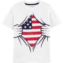 Carters Little Boys Flag T-Shirt