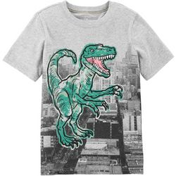 Carters Little Boys Dino Cityscape T-Shirt