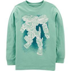 Carters Little Boys Robot Sketch Sweatshirt